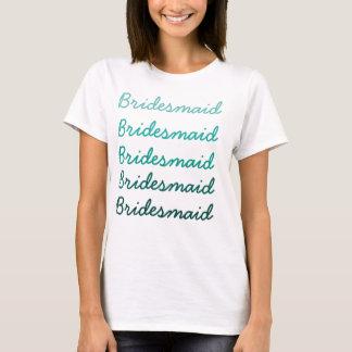 Ombre brudtärnaT-tröja T Shirts