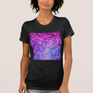 Ombre för stjärnor för STRÅLPUNKTORCHIDGALAX kosmi Tee Shirts