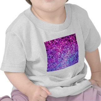Ombre för stjärnor för STRÅLPUNKTORCHIDGALAX T Shirts