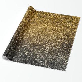 Ombre glitter som sparkling presentpapper