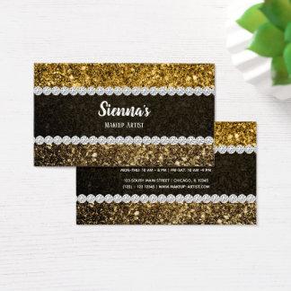 Ombre glitter som sparkling visitkort