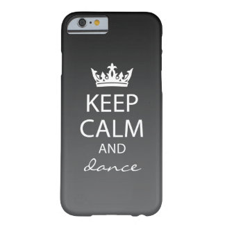 Ombre Keep Calm iPhone 6 Case (black)