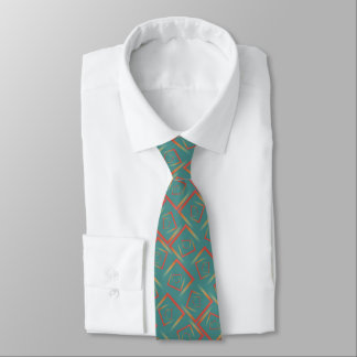 ombrelutningvridning kvadrerar mosaikmönster slips
