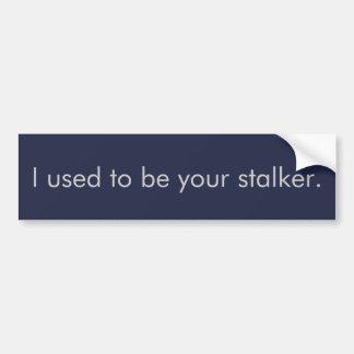 Omdanad Stalker Bildekal