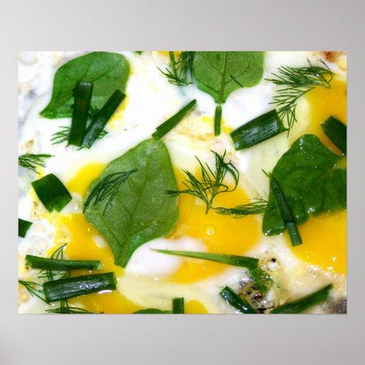 Omelett Affisch