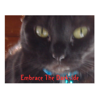 Omfamna Darksiden Vykort