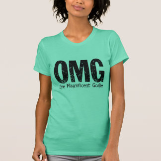 OMG: En storartad Goalie (hockey) T Shirt
