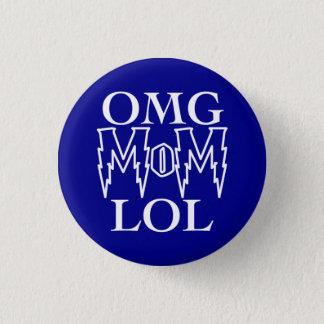 OMG-mamma LOL! Mini Knapp Rund 3.2 Cm