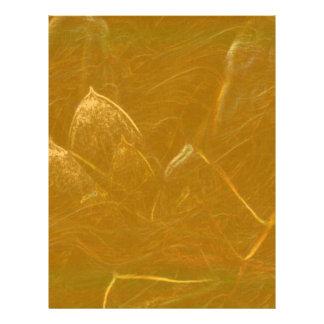 Omkullkastar konstnärligt guld för GULD- Brevhuvud