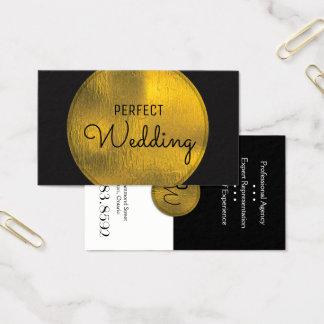 Omkullkastar stilfullt guld för visitkort