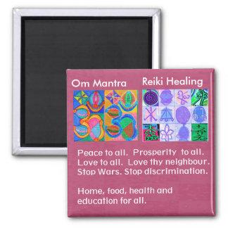 OmMantra MANTRA - 12 Reiki som läker tecken för