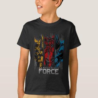 Omöjlig att stanna styrka för drakar t-shirts