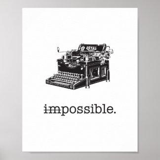 Omöjligt möjlighet - affisch