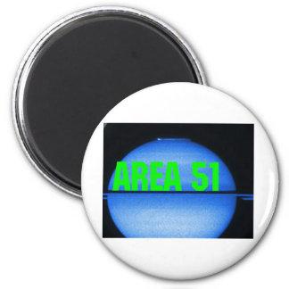 område 51 magnet rund 5.7 cm