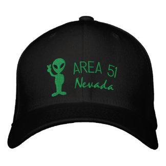 Område 51 Nevada broderade hatten Keps