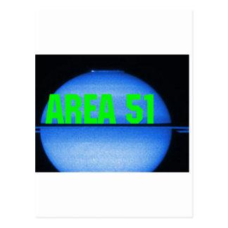 område 51 vykort