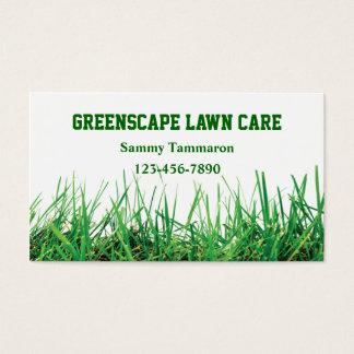 Omsorg och landskap för gräsmatta visitkort