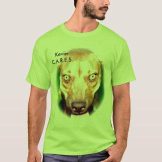 OMSORGAR - Kev - blekögon T Shirt