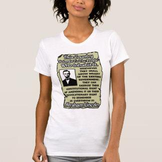 Omstörta regeringen t-shirts