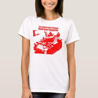 Omstörtande skugga tanken - damer T T Shirt