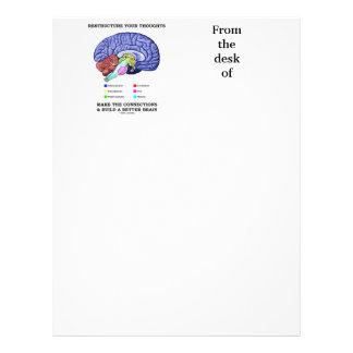 Omstrukturera dina tankar gör anslutningarna brevhuvud