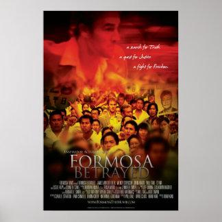 Omväxlande Formosa förrådd filmaffisch Poster