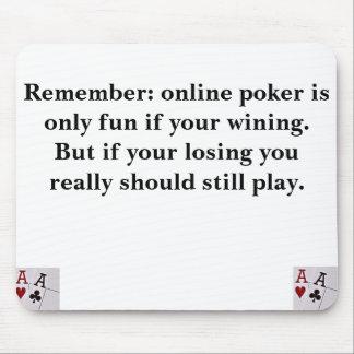 On-line poker musmatta