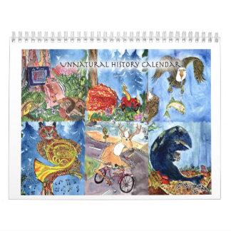 Onaturlig historiekalender kalender