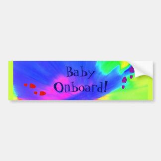 """Onboard"""" bildekal """"för baby"""
