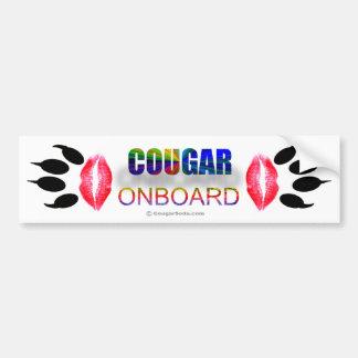 """Onboard"""" bildekal """"för puma"""