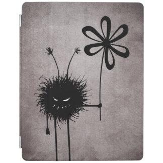 Ond blommakrypvintage iPad skydd