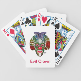 Ond clownsamling (EC) Spelkort