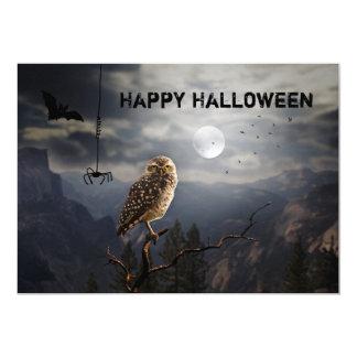 Ond inbjudan för Halloween middagparty