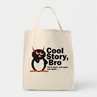 Ond Penguin™ kall berättelse Bro! Mat Tygkasse