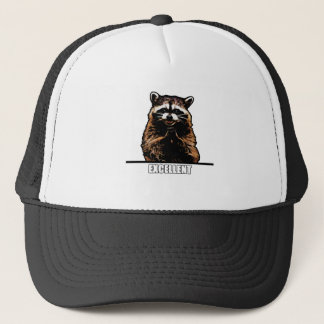 Ond Raccoon Truckerkeps