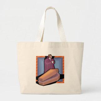 Ond vampyr tote bags