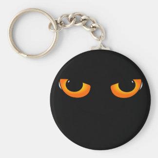 Onda ögon rund nyckelring