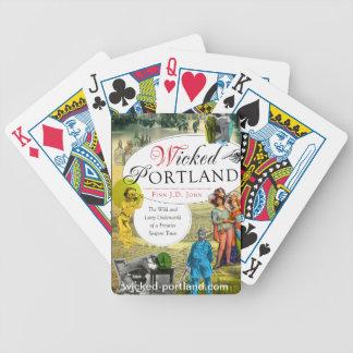 Onda Portland som leker kort Spelkort