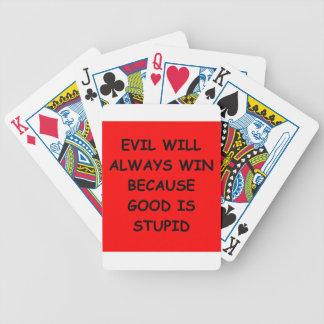 ondska spelkort