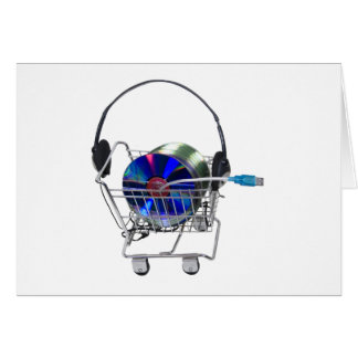 OnlineMusicShopping070709 Hälsningskort