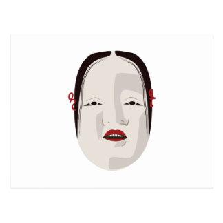 Onna-Manar maskerar Vykort