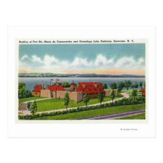 Onondaga sjögångallé vykort