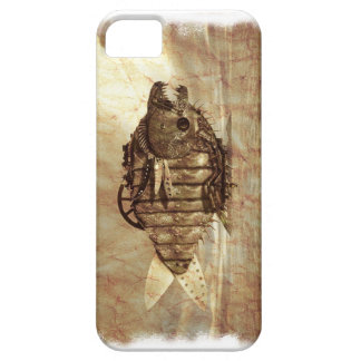 Onormal Mech Grunge för fiskångaPunk iPhone 5 Case-Mate Fodral