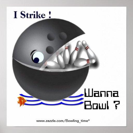 Önska att bowla? posters
