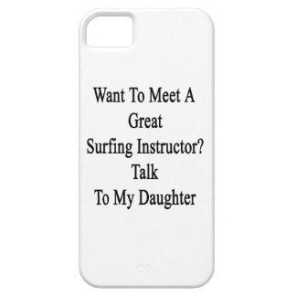 Önska att möta ett underbart surfa barely there iPhone 5 fodral