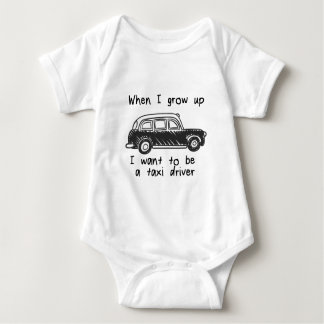 Önska att vara en taxichaufför, när jag växer upp t shirt