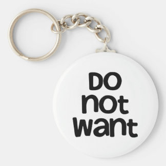 Önska inte nyckelringar