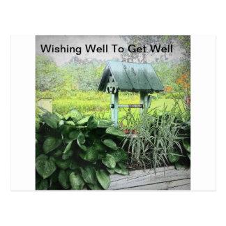 Önska väl hälsningkort vykort