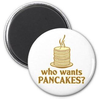 Önskar vem pannkakor? magnet