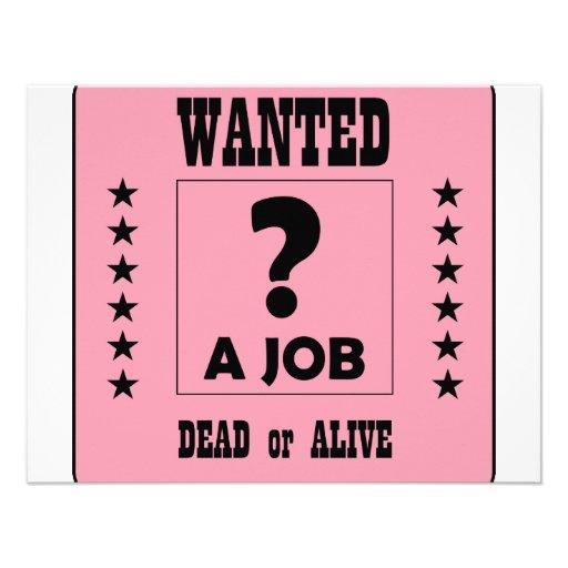 Önskat… ett jobb! inbjudan